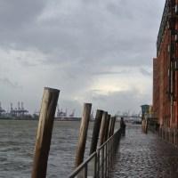 Schmuddeltag an der Elbe...