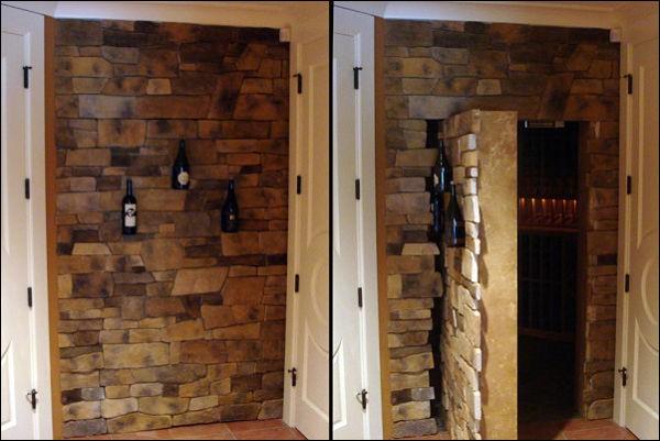 Escape room puzzle ideas: secret door