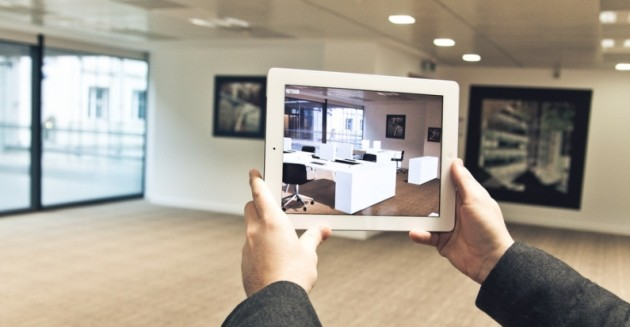 Augmented reality alllows people to interact with digital items in real space.
