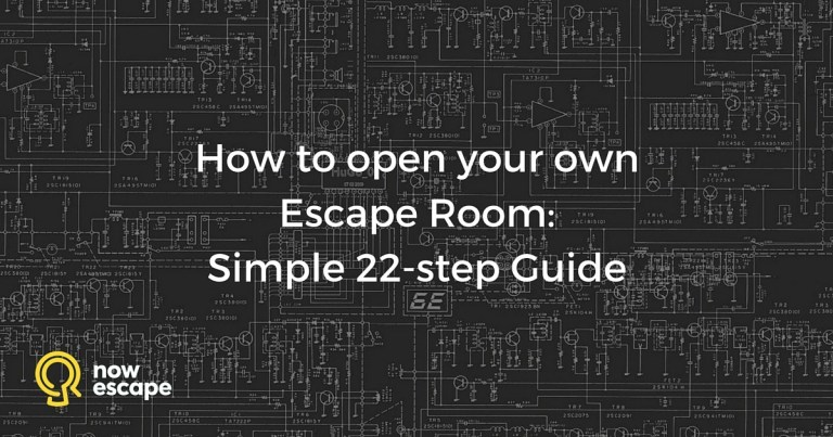 How to Open Your Own Escape Room: A Simple 22-step Guide