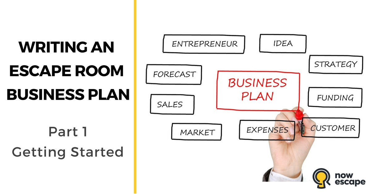Writing an Escape Room Business Plan: Getting Started