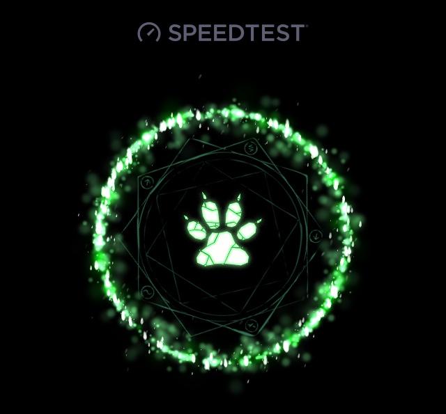 Come abilitare il tema nascosto su Speedtest!