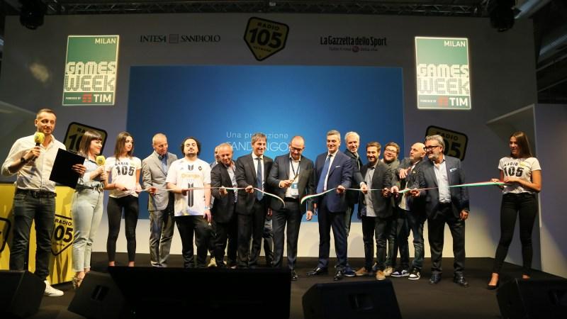 Apertura della Milan Games Week