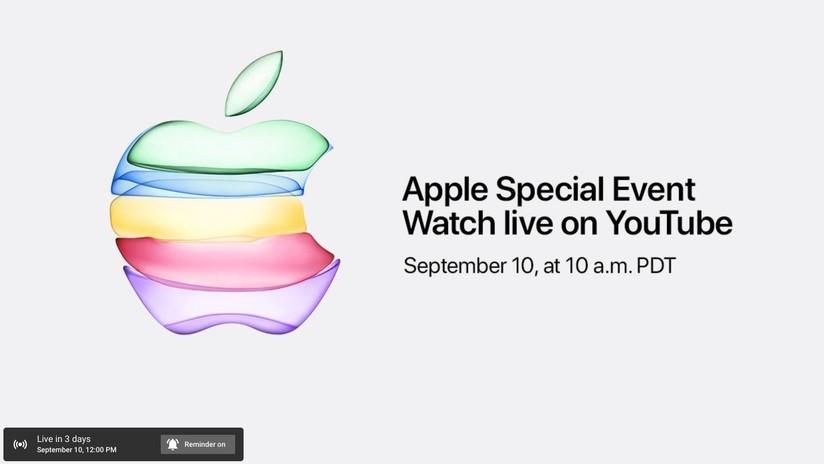 Evento Apple anche su YouTube per la prima volta