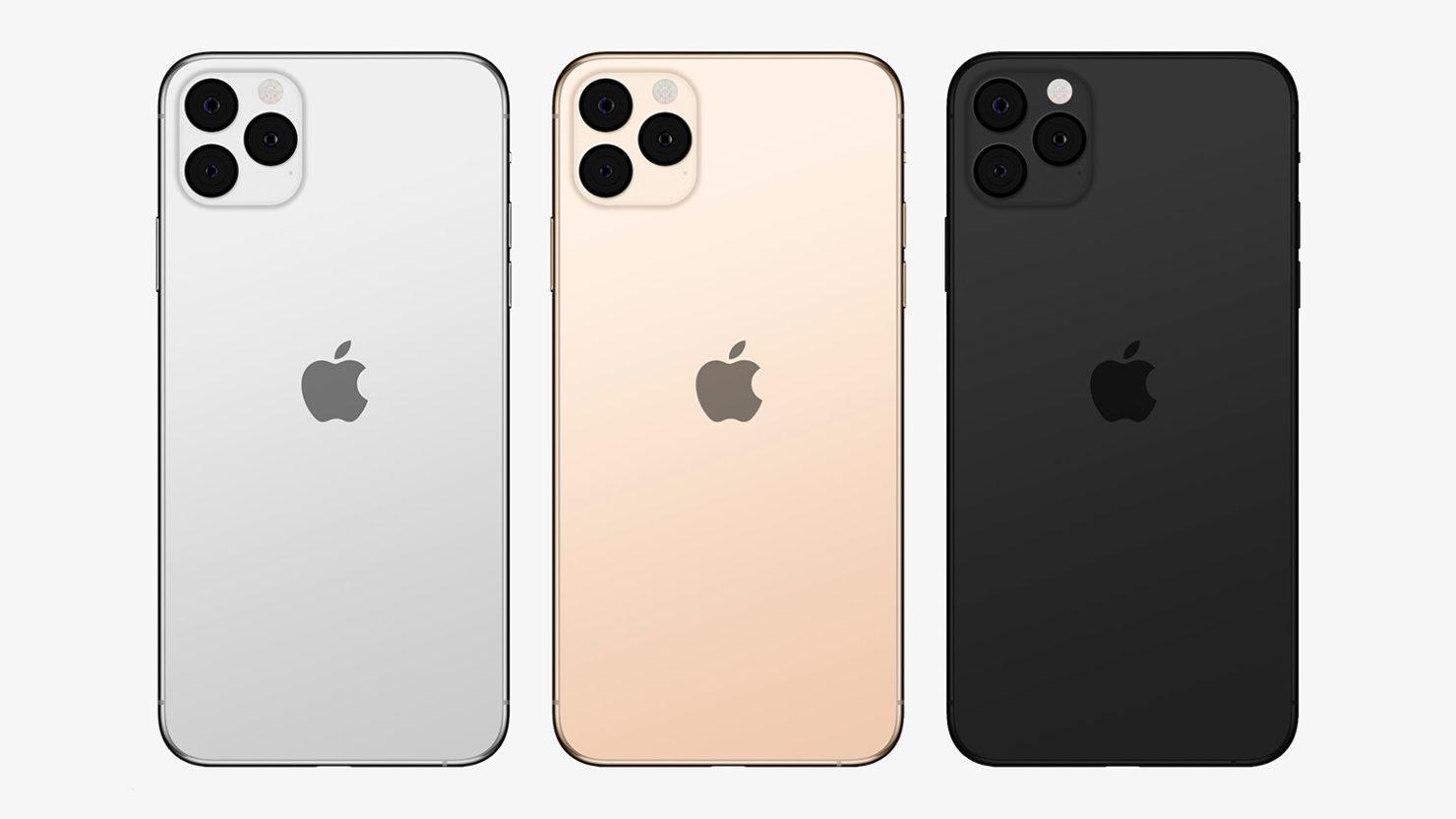 iPhone 11 con logo Apple centrato, la conferma di Bloomberg