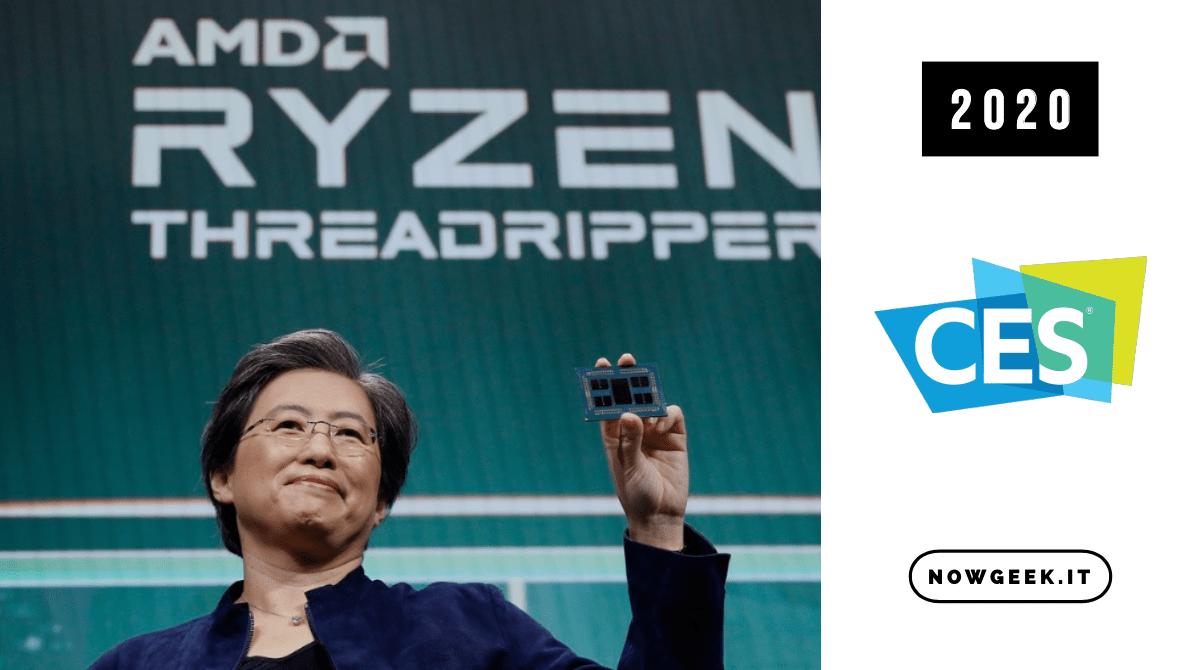 Presentati i nuovi processori e GPU al CES 2020