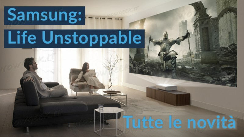 """Samsung inaugura una nuova era dell'innovazione con l'esperienza virtuale """"Life Unstoppable"""""""
