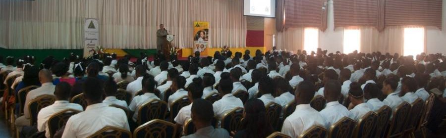 Cross Section of Students at JA