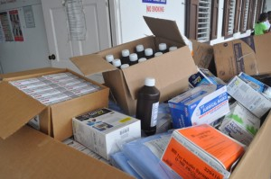 Donation of healthcare items