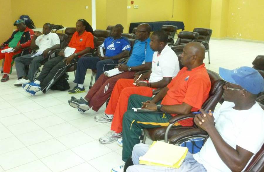 1. GCA Coaches in classroom session