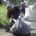 Clean up in the South of the Island