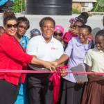 Grenada School for Special Education Receives 20,000 Gallon Tank