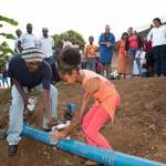 First Community Based Rain Water Harvesting System in Grenada