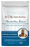 Blends By Orly – Gluten Free Baking Flour – Manhattan Blend – Gluten-free Pastry Flour for Donuts, Bagels and Specialty Breads 20 oz. Bag