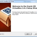 VirtualBox installer