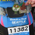 Seattle Rock n Roll Half Marathon 6/21/14