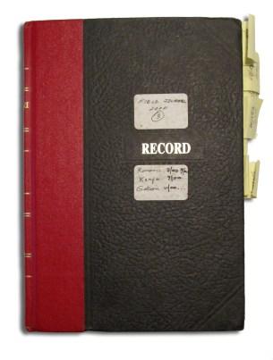 Quammen journal, cover