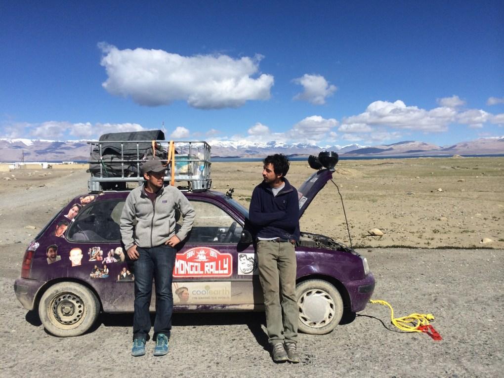 Auto Goulet in trouble in Tajikistan