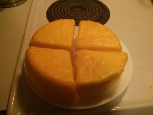 Cheese can now be stored in the refrigerator for up to 3 months.