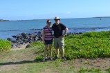 My Dad and I outside the Maui Beach Hotel