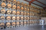 Barrels of vodka