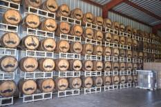 Barrels of vodka