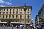 This column was at the very center of Roman Florence