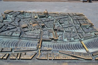 The original map of Florence, from around 59 BC