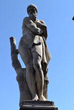 Statue representing Winter