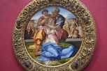 Doni Tondo, Diameter, Michelangelo