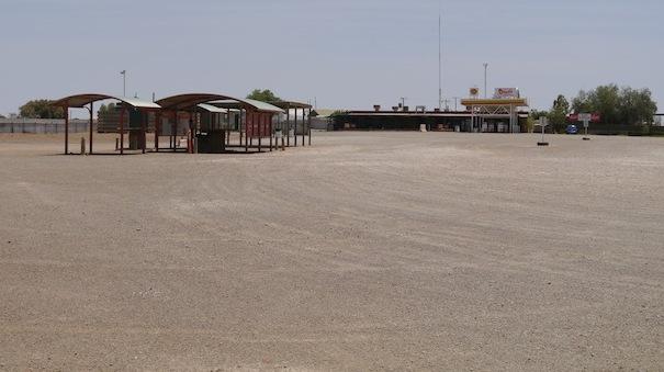 Une station service très... vide!