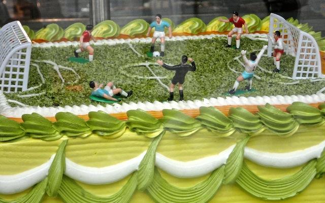 Gâteau Péruvien, tellement beau qu'on n'oserait pas le manger!
