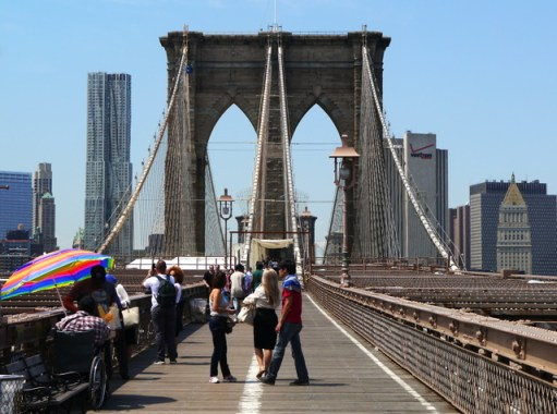New York pont de brooklin