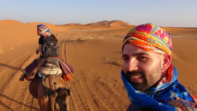 Marco et Risa au Maroc