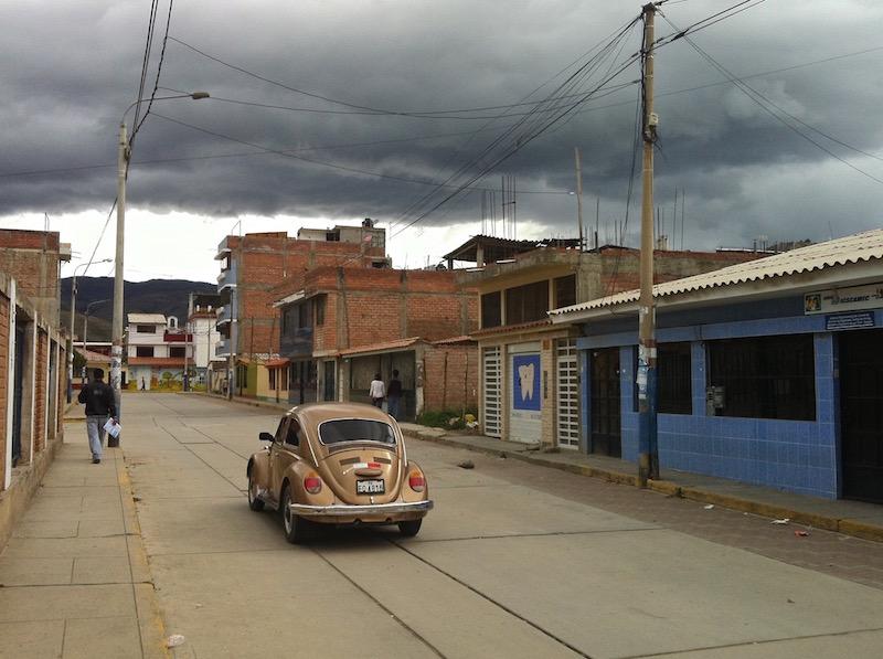 A Huaraz, au Pérou, le ciel menaçant nous a découragés de partir en excursions dans les montagnes...