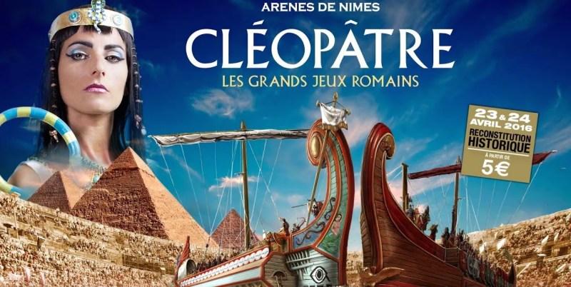 7ème edition des jeux romains nimes affiche