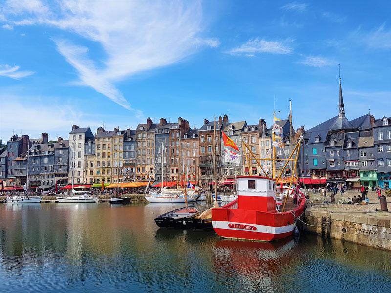 Découvrir Honfleur lors d'un week-end en Normandie