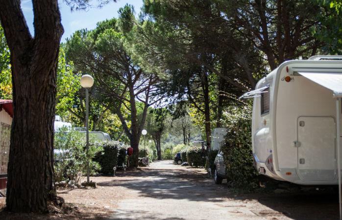 Le camping Sandaya Douce Quiétude est un lieu paisible et ombragé
