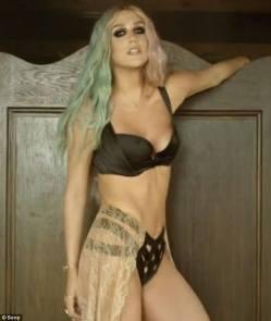 #NowNews : Kesha en rehabilitación por problemas alimenticios
