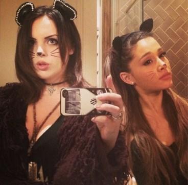 Liz-Gillies-Ariana-Grande-Halloween