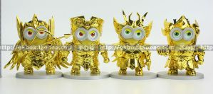 #Cine: Ahora los Minions se visten de caballeros del zodiaco