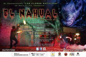 #Terror ¡ Se presenta la leyenda del nahual en Xochimilco !