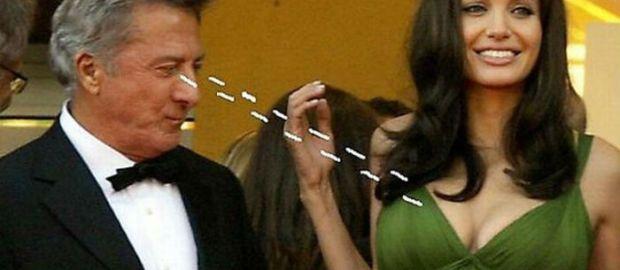 #Cine : ¡In fraganti! Celebridades que son captadas mirando donde NO debían(+FOTOS)