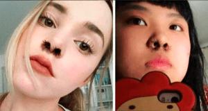 #LoMasViral : De los creadores de cejas onduladas llega extensiones de pelo en la nariz.