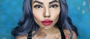 #Curiosidades : ¡Mira este ORIGINAL maquillaje de Pixeles para tu próximo Halloween!