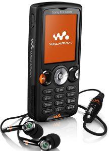 celulares -Sony- Ericsson -W820i