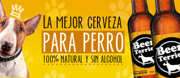 #LoMásViral: ¿Cerveza para perros? Beer Terrier lo hace.