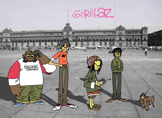 #NowNews La manera creativa de Gorillaz para enviar mensaje a México