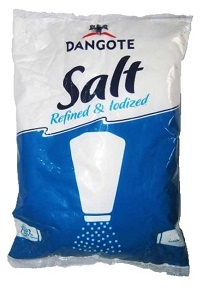 image of Dangote Iodised Salt on Now Now Express to send grocery to Nigeria
