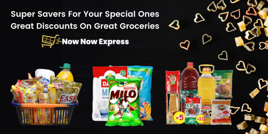 Now Now Express brings you Super Saver Offers on essentials, breakfast/meal bundles and cocoa beverages. Surprise Savers For Your Special Ones.
